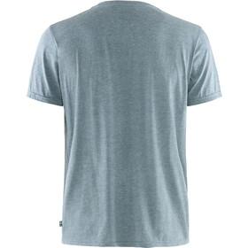 Fjällräven Logo T-Shirt Homme, uncle blue/melange